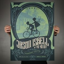 Jason Isbell Official 2017 Poster Knoxville TN Signed & Numbered A/E #/40