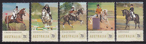 2014 Equestrian Events - MUH Complete Set of 5 Stamps