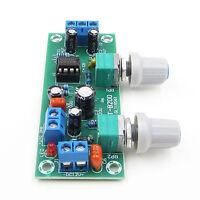 Filter NE5532 Bass Tone Subwoofer Pre-Amplifier Preamp Board DC 12-24V BBC