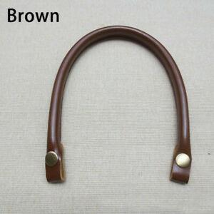 1PC PU Leather Handbag Strap Bag Handles Replacement Button Strap Accessories