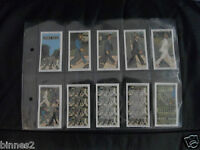 THE BEATLES ABBEY ROAD LIMITED EDITION WARUS TRADING CARDS FULL SET IN WALLET