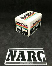 Ilford HR 100 Color 12 exp 35mm expired film Lomo kodak fperutz 3M 35mm