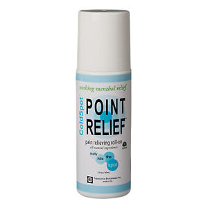 Point Relief ColdSpot Lotion - Roll-on Bottle - 3 oz