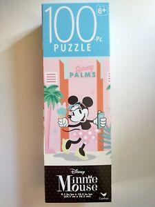 Disney Minnie Mouse Children's Puzzle 100 pcs 9x10 NIB 6+ Spring Palms