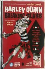 HARLEY QUINN Breaking Glass MARIKO TAMAKI  Poster DC Comics