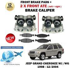 für JEEP GRAND CHEROKEE 1998-2004 2x vorne links rechts Bremssättel + Belag Set