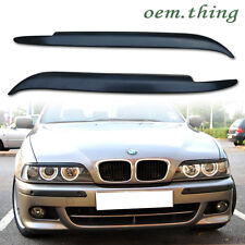 ABS HEADLIGHT COVER EYELIDS EYEBROWS 97-03 For BMW E39 5 SERIES