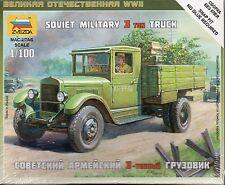 Zvezda 1/100 Soviet ZIS-5 Z6124 camión militar