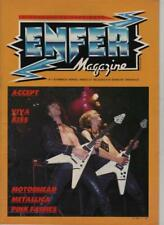 enfer magazine n°7 novembre 1983 - metalica/motorhead/accept/kiss /pink fairies