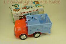 LE GAULOIS.  BEDFORD  camion de ferme + boite (style norev minialuxe) (lot2)