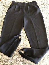 c308aab138e2 St John Collection Black Santana Knit Stirrup Pants Sz 2