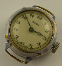 Vintage 1930s Ladies Art Deco Siro Swiss Mechanical Wrist Watch Not Working