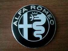 Alfa Romeo Embleme SCHWARZ DESIGN GUILIA 74mm für 147 156 159 Mito Guilietta