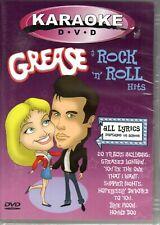 Karaoke - Grease & Rock 'n' Roll Hits (DVD, 2003)