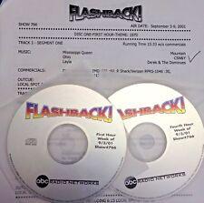 RADIO SHOW: FLASHBACK (2 HR) 9/3/01 MOUNTAIN, GRATEFUL DEAD, HEART, PRETENDERS