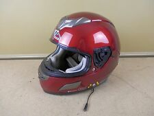 Vega V Tune Bluetooth Wireless Motorcycle Helmet Red Size Large -PARTS OR REPAIR