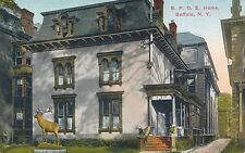 B.P.O.E. Home, Buffalo, N.Y. New York. Elks Home.