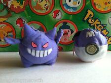 Pokemon Plush Gengar Monster ball Tomy Reversible Poke doll stuffed figure go