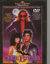DVD - ONCE BITTEN - JIM CAREY  ENGLISH / NEDERLANDS REGION 2 PAL