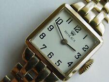 9k solid gold Rolex ladies watch 17 jewel movement