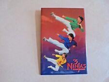 Cool Vintage 3 Ninjas Kick Back 1994 Martial Art Movie Promo Advertising Pinback