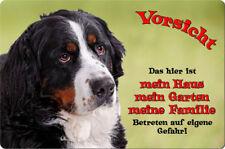 BERNER Sennenhund - A4 Alu Warnschild Hundeschild SCHILD Türschild - BNS 01 T1