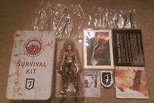 Tomb Raider Collector's Edition Tin Lara Croft Figure & Parts Soundtrack NO GAME