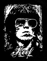 Keith Richards T Shirt Keef sunglasses Rolling Stones World Tour Black Sm-5xlg