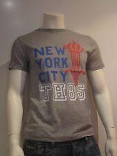 Tommy Hilfiger Denim Felix 1 talla XL camiseta hombre estampada azul