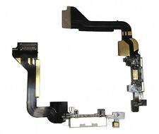For Replacement iPhone 4 USB Charging Dock Connector Port With Flex Cable White