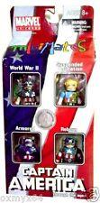 Minimates TRU Captain America Through the Ages 4 Pack!