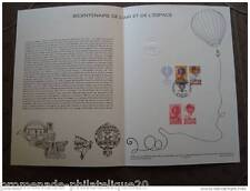 FRANCE document officiel 1er jour-bicentenaire de l'air et de l'espace - 19/3/83