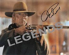"""Clint Eastwood Autographed """"Unforgiven"""" Color Reprint 8"""" x 10"""""""