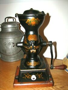 Antique Cast Iron Enterprise Coffee Grinder No. 1 / Coffee Mill