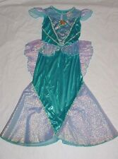 EEUC Disney Store PRINCESS ARIEL Little Mermaid Halloween Costume Sz XS 4
