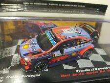 1/43 Hyundai i20 WRC Sordo winner Rally Sardegna 2019 Altaya Rallye Motorsport