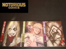 Harleen 1-3 Complete Comic Lot Run Set DC Black Label Harley Quinn Collection
