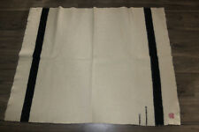 """RARE Vintage Hudson Bay wool blanket 1 1/2 point 49""""x39"""" ~PROFESSIONALLY CLEANED"""