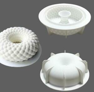 3D Cakes Mold Tray Baking Mousse Decor Tools Desserts Silicone Mould Bakeware