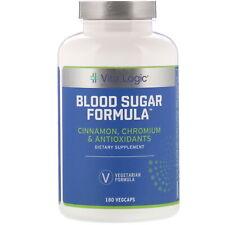 Blood Sugar Formula, 180 Vegcaps