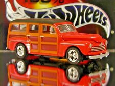 100% HOT WHEELS 1948 FORD WOODY WAGON LIMITED EDITION 1/64