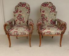 WHIMSICAL HOLLYWOOD REGENCY FANTASY CHAIRS BELONGING TO THE LATE DAVID BOWIE