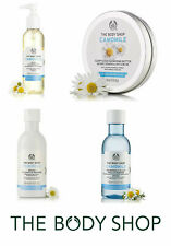 Body Shop CAMOMILE Skincare RANGE Gentle, Cleansing, Waterproof Makeup Remover