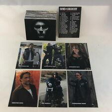 SONS OF ANARCHY SEASONS 6 & 7 by Cryptozoic 2015 Complete Card Set (63) SAMCRO