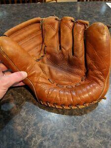 Vintage Mickey Mantle Yankees Baseball Glove Pro Master 1950s ? Leather Estate