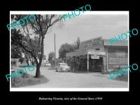 OLD LARGE HISTORIC PHOTO OF BALNARRING VICTORIA VIEW OF THE GENRAL STORE c1950