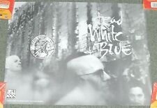 "1992 *Dead White & Blue* Triple X Records Promo Poster 18X24"" Wh24 Pb2"