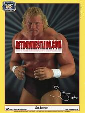 WWF PROMO SID JUSTICE Wrestling WWE FAN CLUB EXCLUSIVE DAL 1991 PSYCHO vizioso