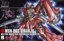 Gundam HGUC MSN-06S Sinanju 1/144 Bandai Model Kit
