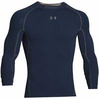 Under Armour Mens Activewear Top Black Size Large L Compression Logo $34 #130